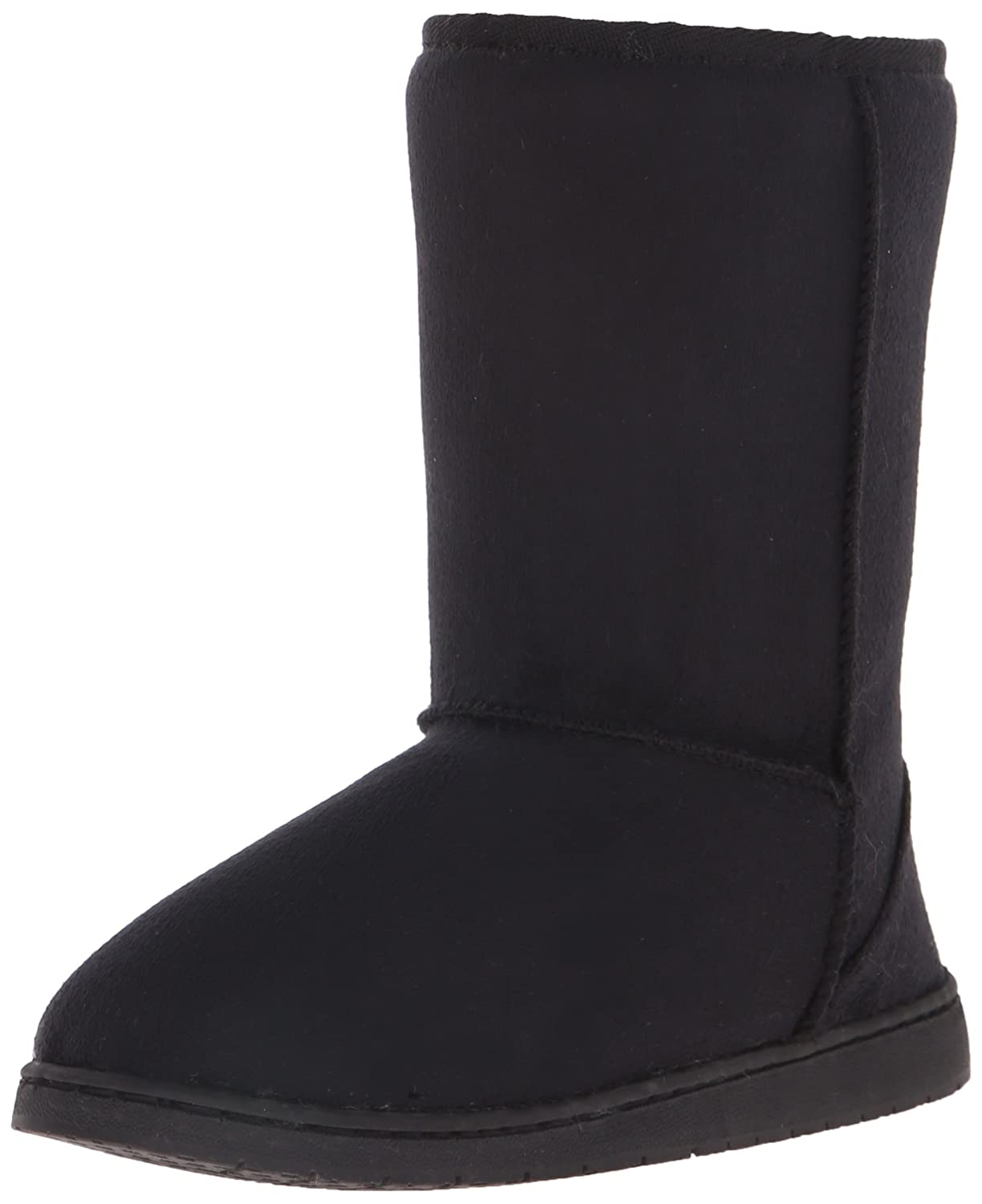 DAWGS Womens 9 Inch Faux Shearling Microfiber Vegan Winter Boots B001KIZPQA 7 B(M) US|Black