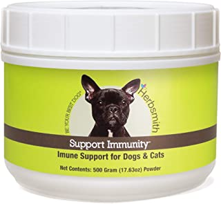 product image for Herbsmith Support Immunity – Canine and Feline Immune Support – Helps Maintain Respiratory Health for Dogs and Cats – Natural Immune System Support
