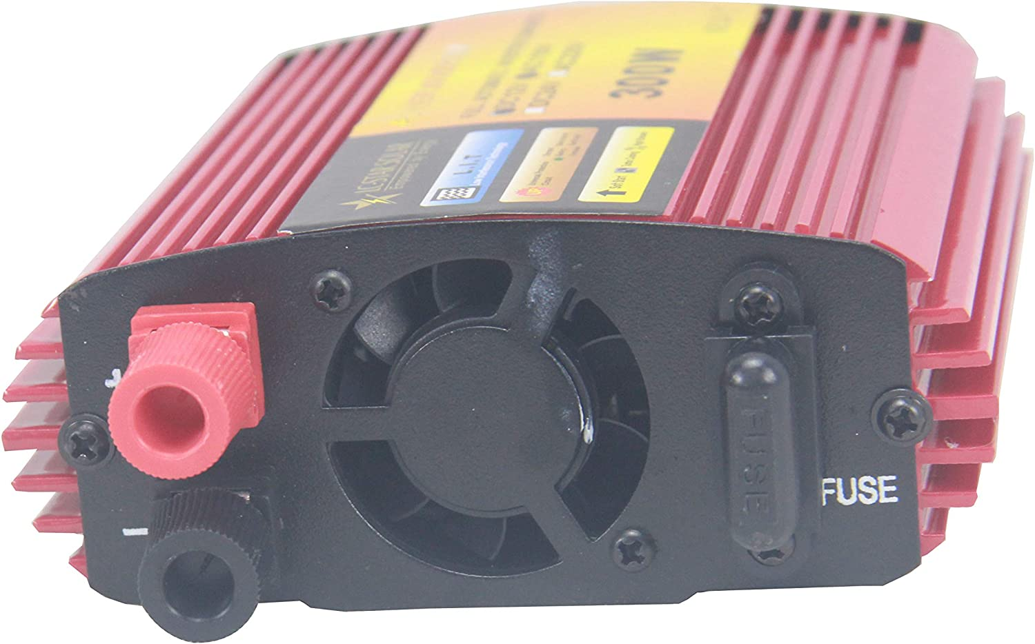 LC-STAR SOLAR 300W Power Inverter DC 12V to 110V AC Car Inverter with 3.1A Dual USB Car Adapter