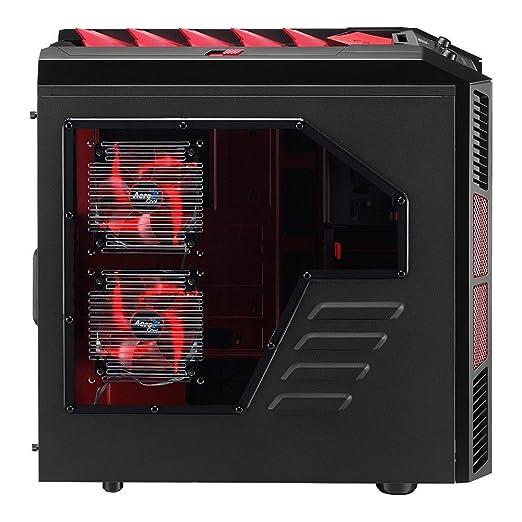 165 opinioni per Aerocool XPredator X3 Case Big Tower per PC, Rosso