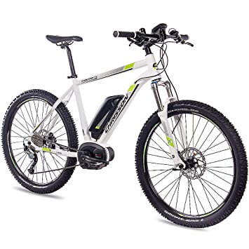 a8c6f8f793dfe9 Chrisson 275 Zoll E Bike Mountainbike Bosch E Mounter 10 Weiss