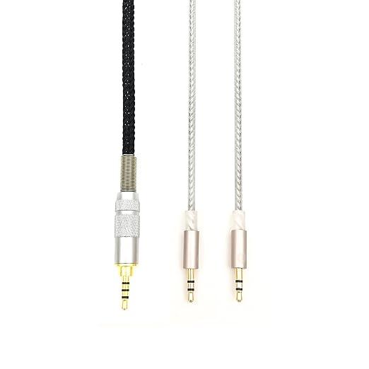 Amazon.com: NewFantasia HIFI cable with 2.5mm Trrs Balanced Male for Hifiman HE400S, HE-400I, HE560, HE-350, HE1000, HE1000 V2 headphone and Astell&Kern ...