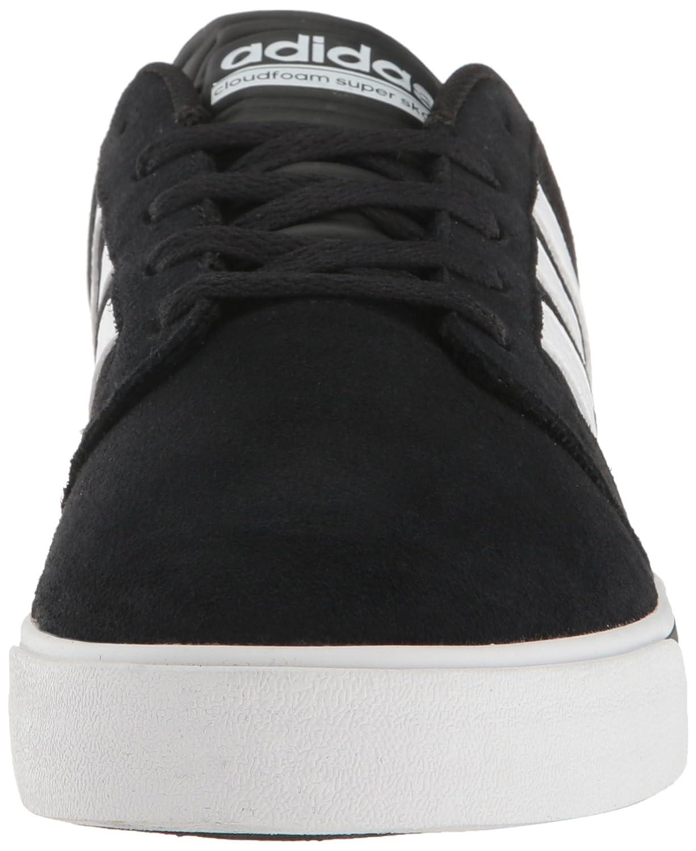 the latest 7bfdc 941f0 Zapatilla de deporte Sneakers Cloudfoam Super Skate de adidas Neo para hombre  Negro   Blanco   Lima