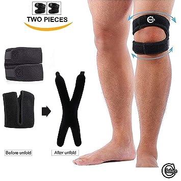 Solace Care 1 Pair Patella Tendon Support Strap Patellar Tendonitis Runner Wrap