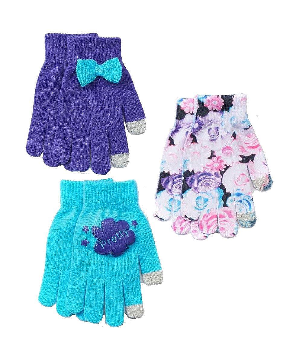 SO Little Girl 3 Pack Texting Gloves Set