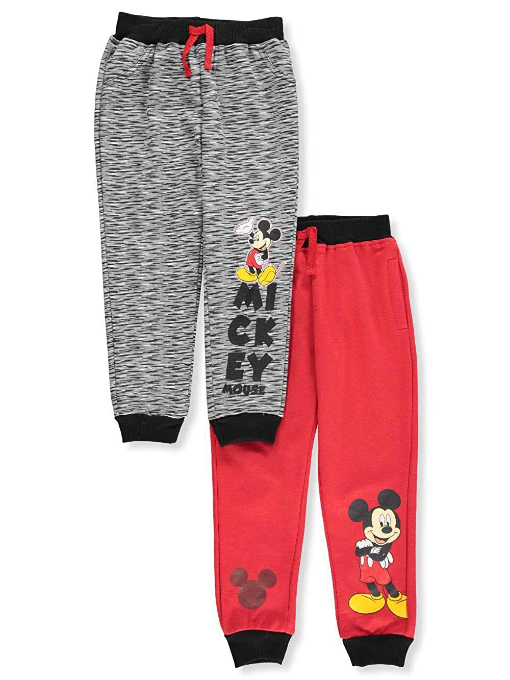 Mickey Mouse and the Roadster Racers Boys\' 2-Pack Fleece Joggers