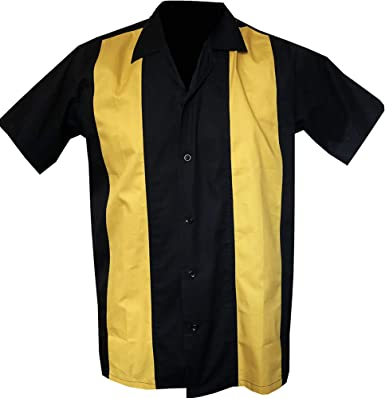 Rockabilly Fashions - Camisa casual - Liso - para hombre: Amazon.es: Ropa y accesorios