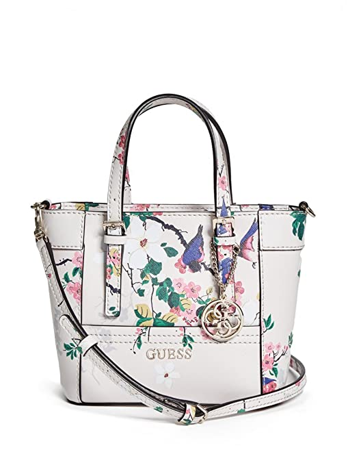 GUESS Delaney Floral-Print Mini Tote  Amazon.ca  Sports   Outdoors a734f0e47eac1