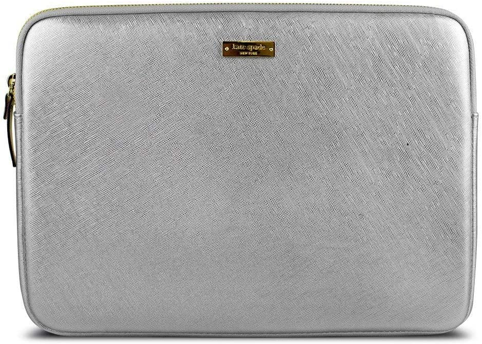 Kate Spade Saffiano Sleeve for Surface Pro 3 (Metallic Silver) (Renewed)