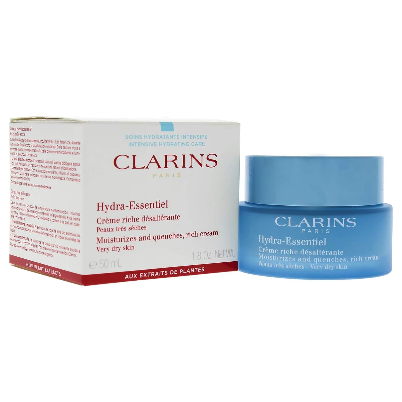 Clarins Hydra Essentiel Ricca Crema Desalterante, Tutti i Tipi di Pelle - 50 ml 3380810109054 CLA00117