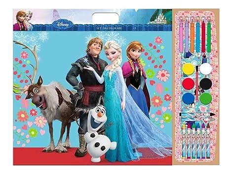 Frozen Set Per Colorare 40 Fogli Da Colorare 1 Foglio Con