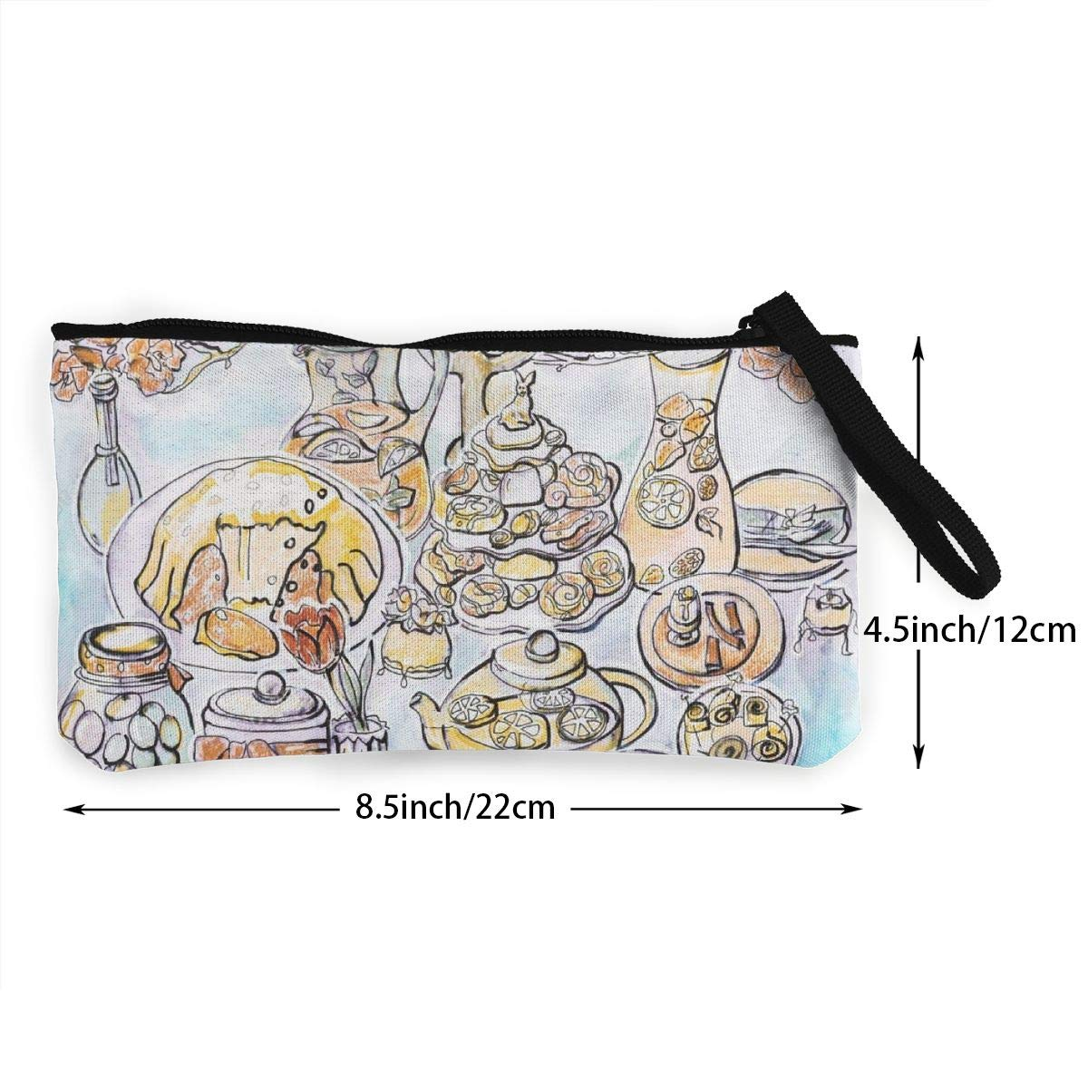 Cellphone Bag With Handle Make Up Bag DH14hjsdDEE Spring Easter Party zipper canvas coin purse wallet