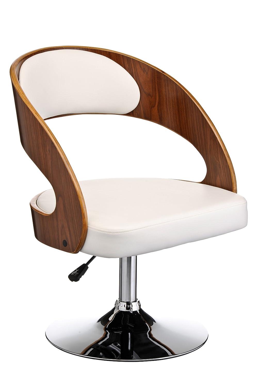 Premier Housewares Bar Chair Height Adjustable - 73-83 x 51 x 52 cm, Black 2402315
