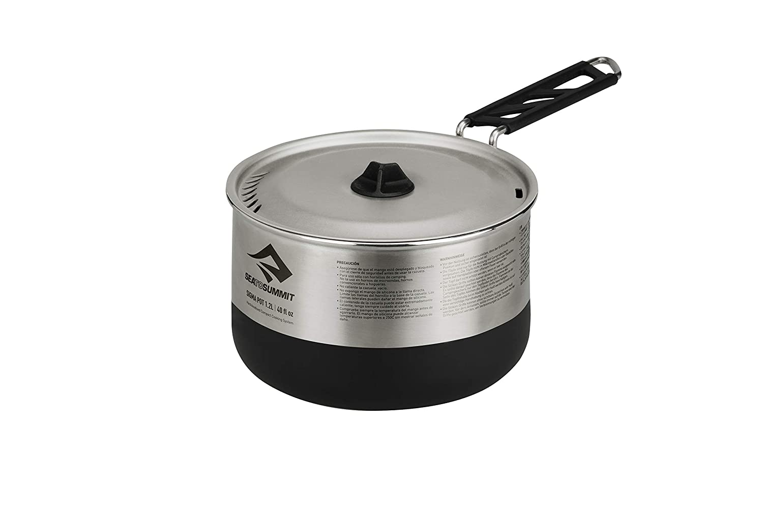 Sea to Summit Sigma Stainless Steel Camping Pot: Sea to ...