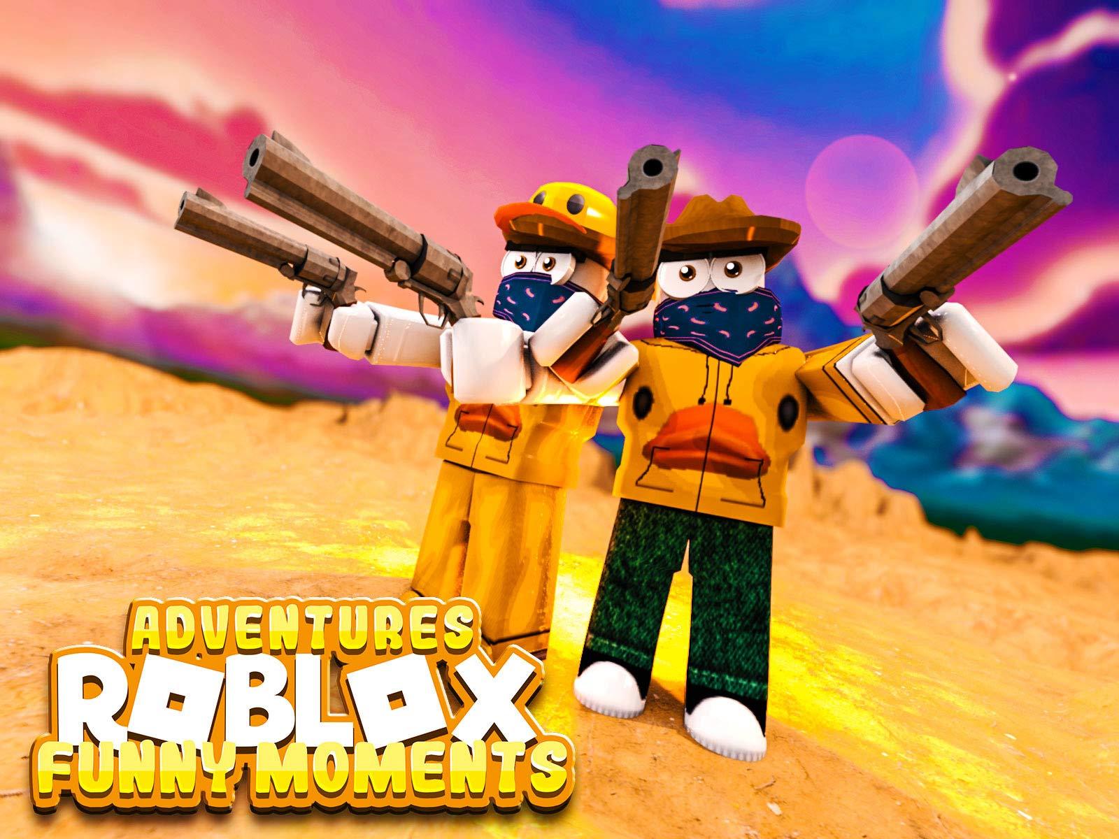 Amazon Com Watch Clip Roblox Adventures Funny Moments Prime