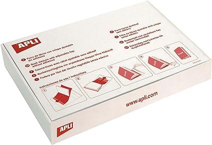 Amazon.com: APLI 941773 – Box of 100 Adjustable Forros, 290 ...