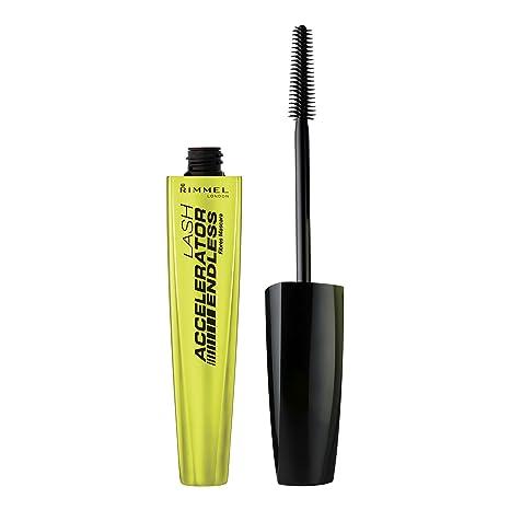 7bdcc6b2306 Amazon.com: Rimmel Lash Accelerator Mascara Endless, Black, 0.33 Fluid  Ounce (Packaging May Vary): Beauty