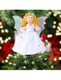 ourwarm mini angel - Angel Christmas Tree Topper