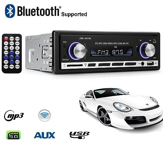 34 opinioni per Autoradio Bluetooth, Lypumso Digital Media Receiver con vivavoce Bluetooth,
