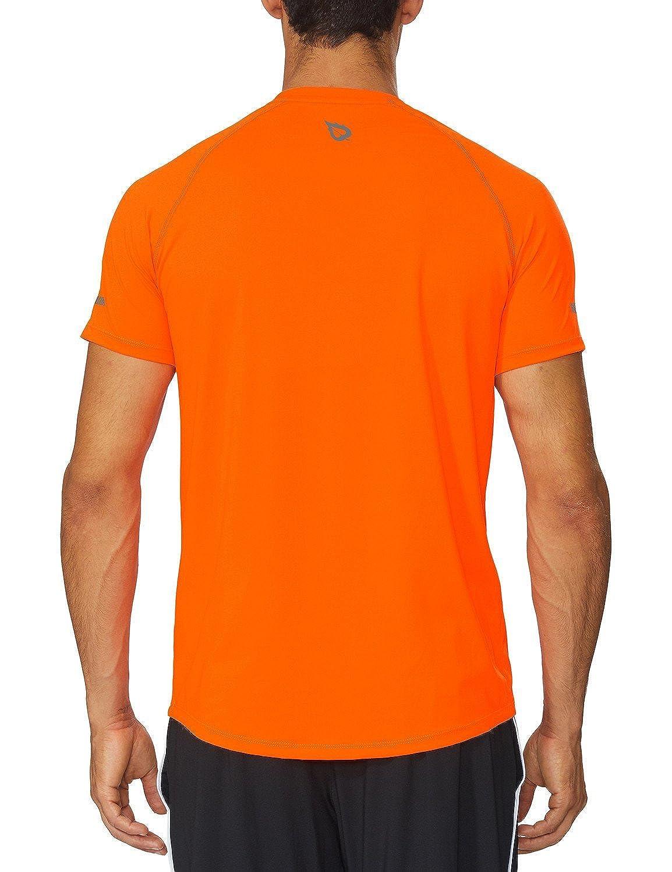 Amazon.com  Baleaf Men s Quick Dry Short Sleeve T-Shirt Running Fitness  Shirts  Sports   Outdoors f1111705d9e