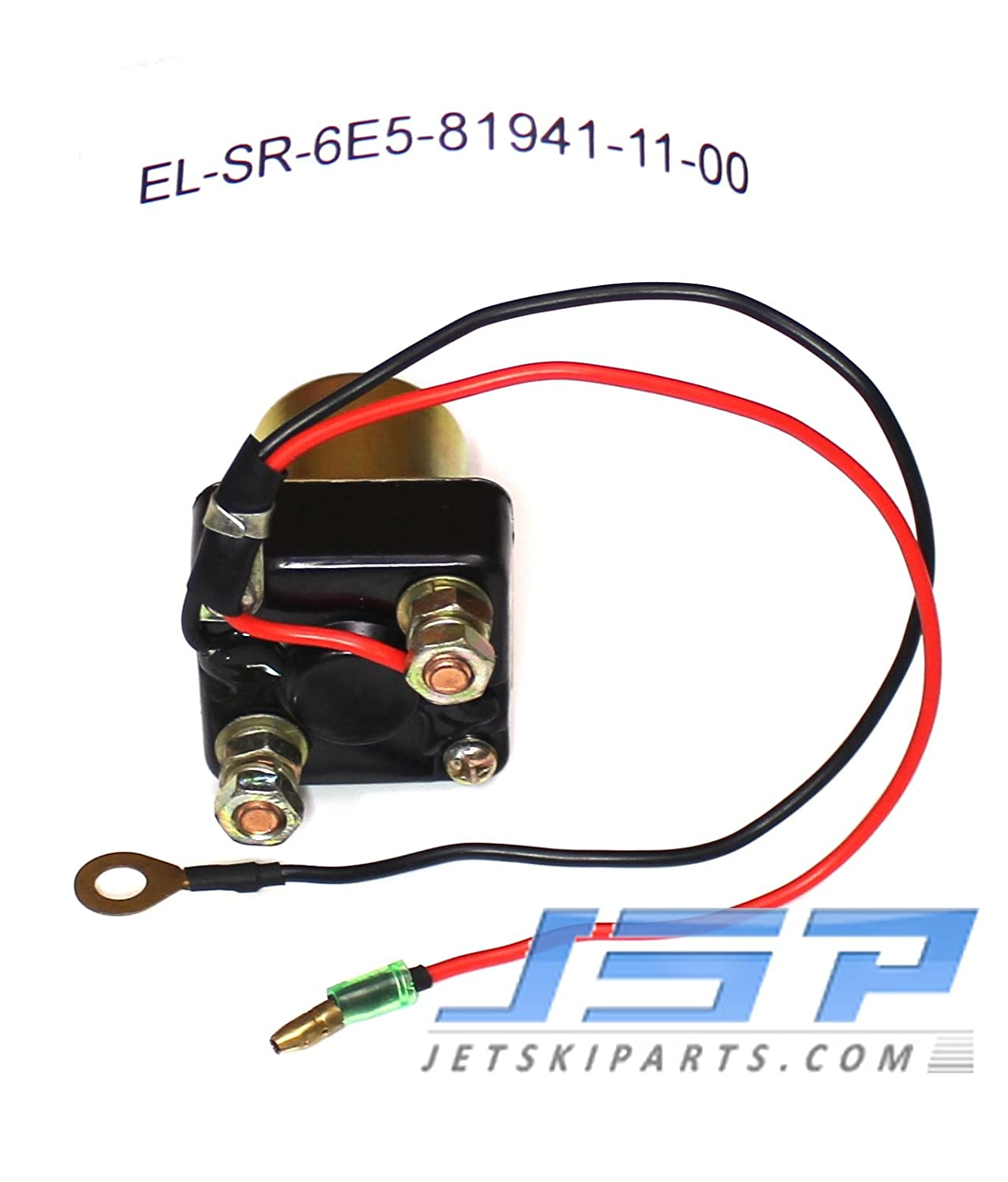 Yamaha Outboard Trim Relay Solenoid 6e5 81941 11 00 Boat V 150 Wiring 115 135 175 200 Hp Sports Outdoors