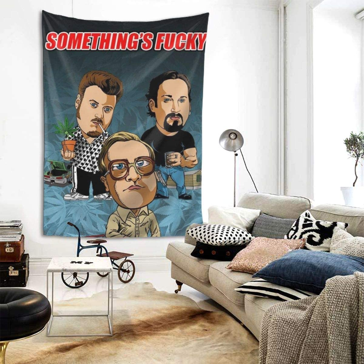 Trailer Park Boys Wall Hanging Tapestry,Beach Blanket Tapestry Dorm Decor for Home