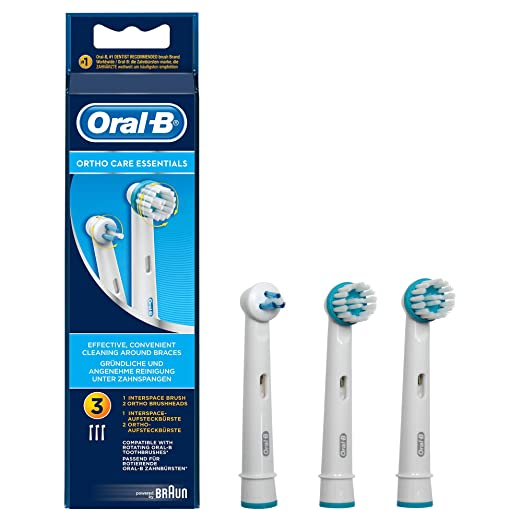 Amazon.com: Braun- Oral-B Aufsteckbürsten Ortho Care ...