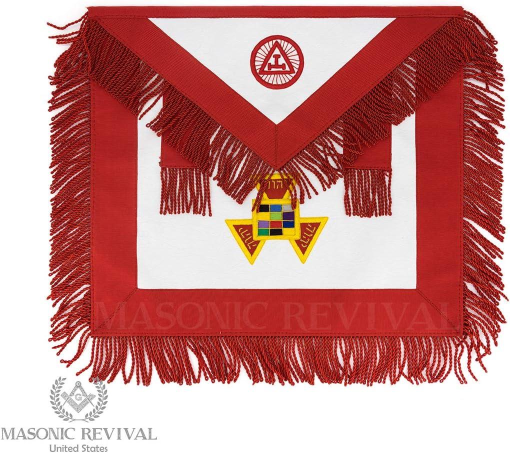 Masonic Revival デラックス パストハイプライストエプロン ロイヤルアーチ