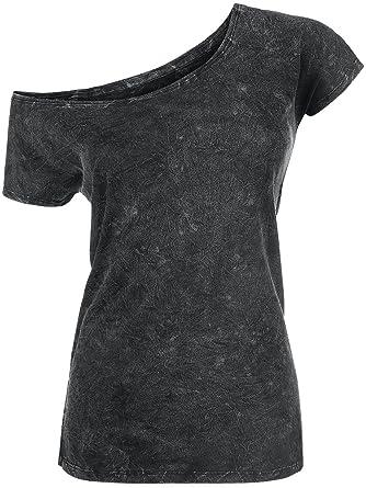 All In The Mind Girl-Shirt schwarz/grau Rock Rebel by EMP pQ9e2