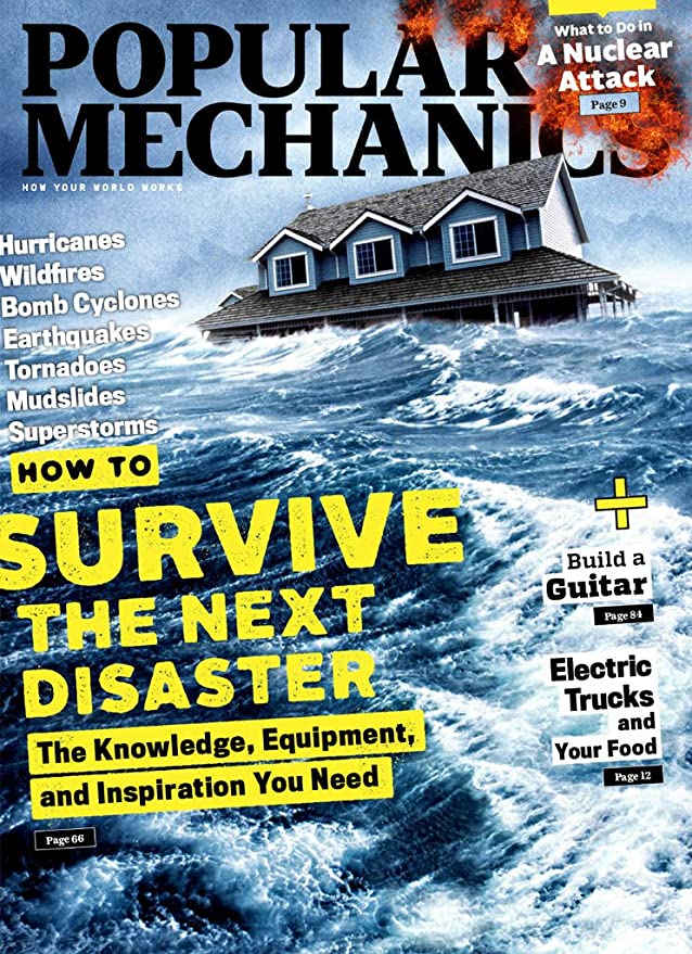 Popular Mechanics Amazon Com Magazines