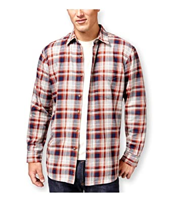 Club Room Mens Plaid Shirt Jacket at Amazon Men's Clothing store: