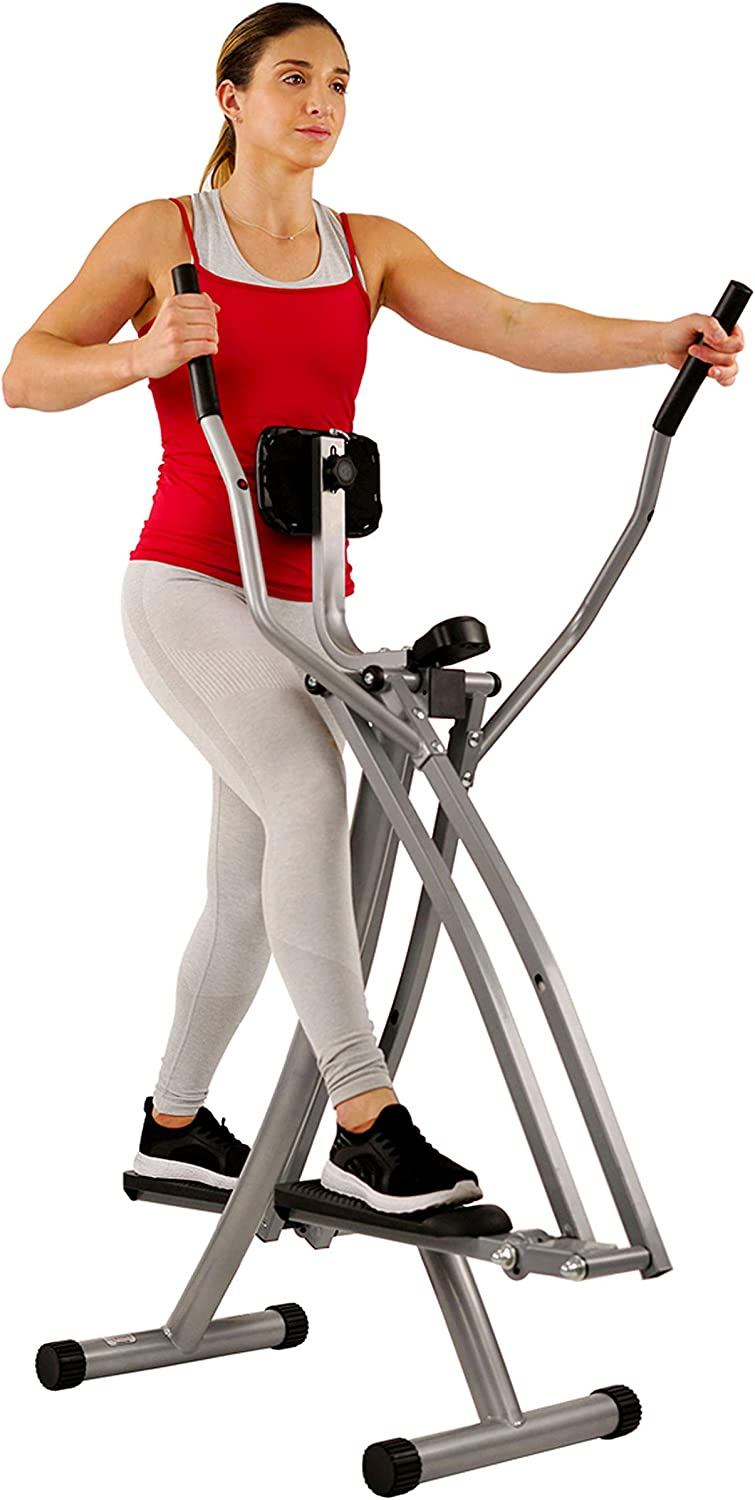 Sunny Health & Fitness SF-E902 Air Walk Trainer Elliptical Machine