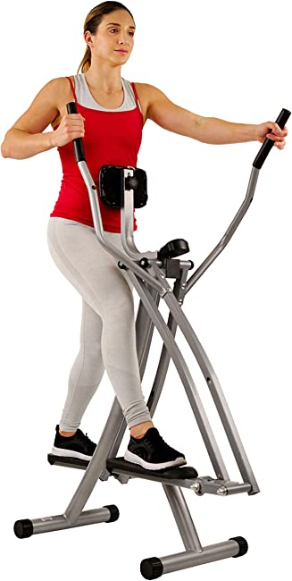 side facing sunny health & fitness sf-e902 elliptical