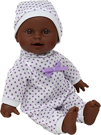 """Soft Body African American Newborn Doll (Pacifier Included), 11"""""""