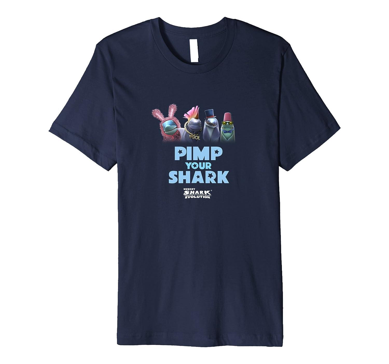 Hungry Shark Evolution: Pimp Your Shark T-Shirt Dark-TH