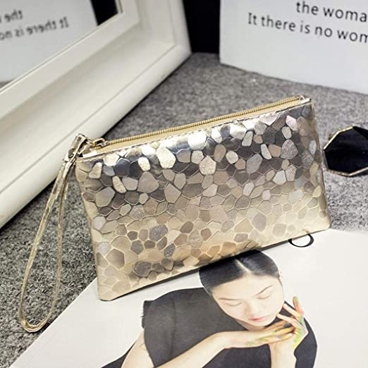a07a01fcb488 Amazon.com : LtrottedJ Fashion Women Evening Party Clutch Bag Makeup ...