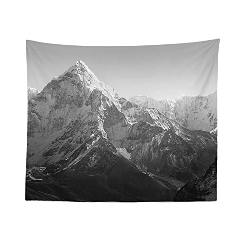 Mountain Tapestry Wall Hanging Landscape Scenic Nature Everest Tapestries Dorm Room Bedroom Decor Art – Printed in the USA – Small to Giant Sizes