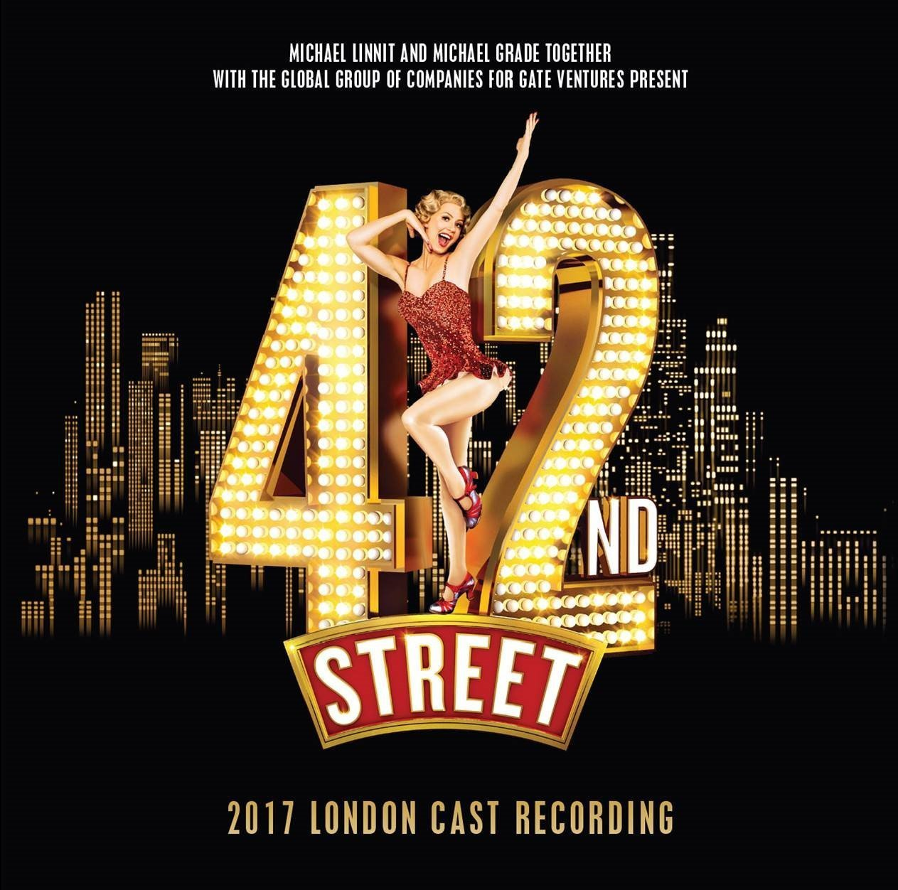 CD : Soundtrack - 42nd Street: 2017 London Cast (Original Cast Recording) (United Kingdom - Import)