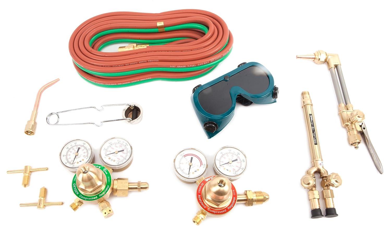 Forney 1705 Torch Kit Victor Type Oxygen Acetylene Shop Flame Medium Duty