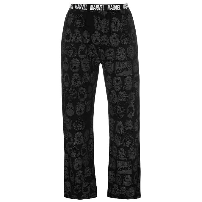 Various - Pantalón de Pijama - para Hombre Marvel Comics Grey S