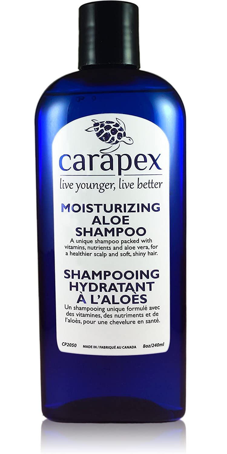 Amazon Carapex Moisturizing Aloe Shampoo Fragrance Free For