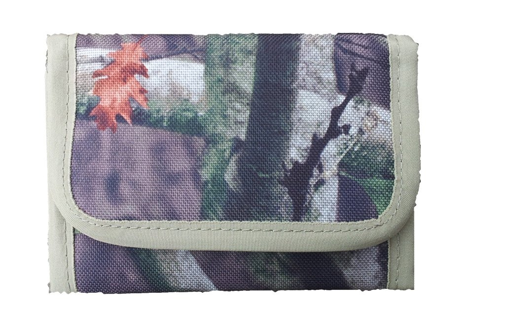 Highlander Tree Deep Walkabout Wallet Tree Camo Print Slim Fising Camouflage