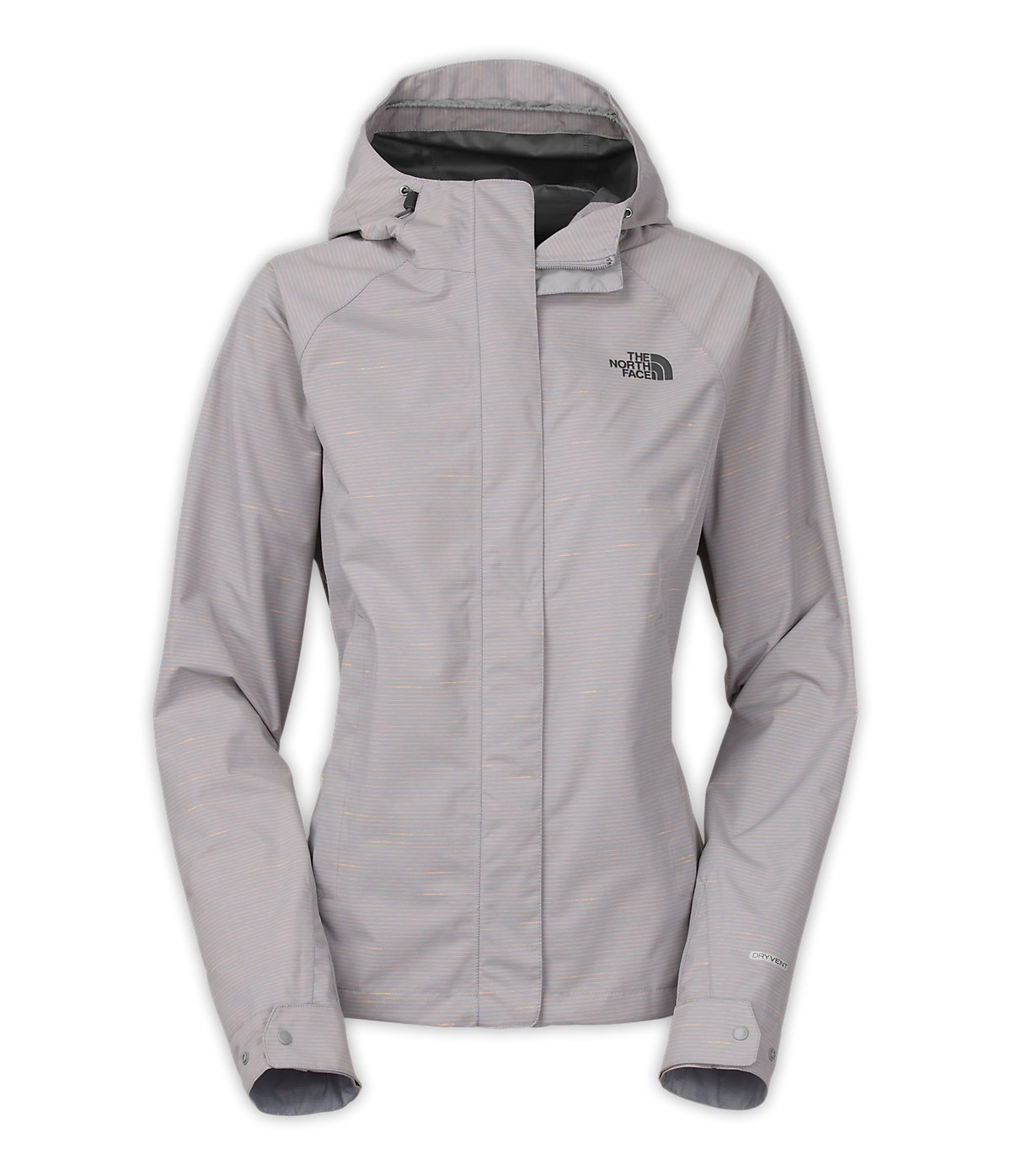 The North Face Women's Novelty Venture Jacket (X-Large, Mid Grey Stripe)