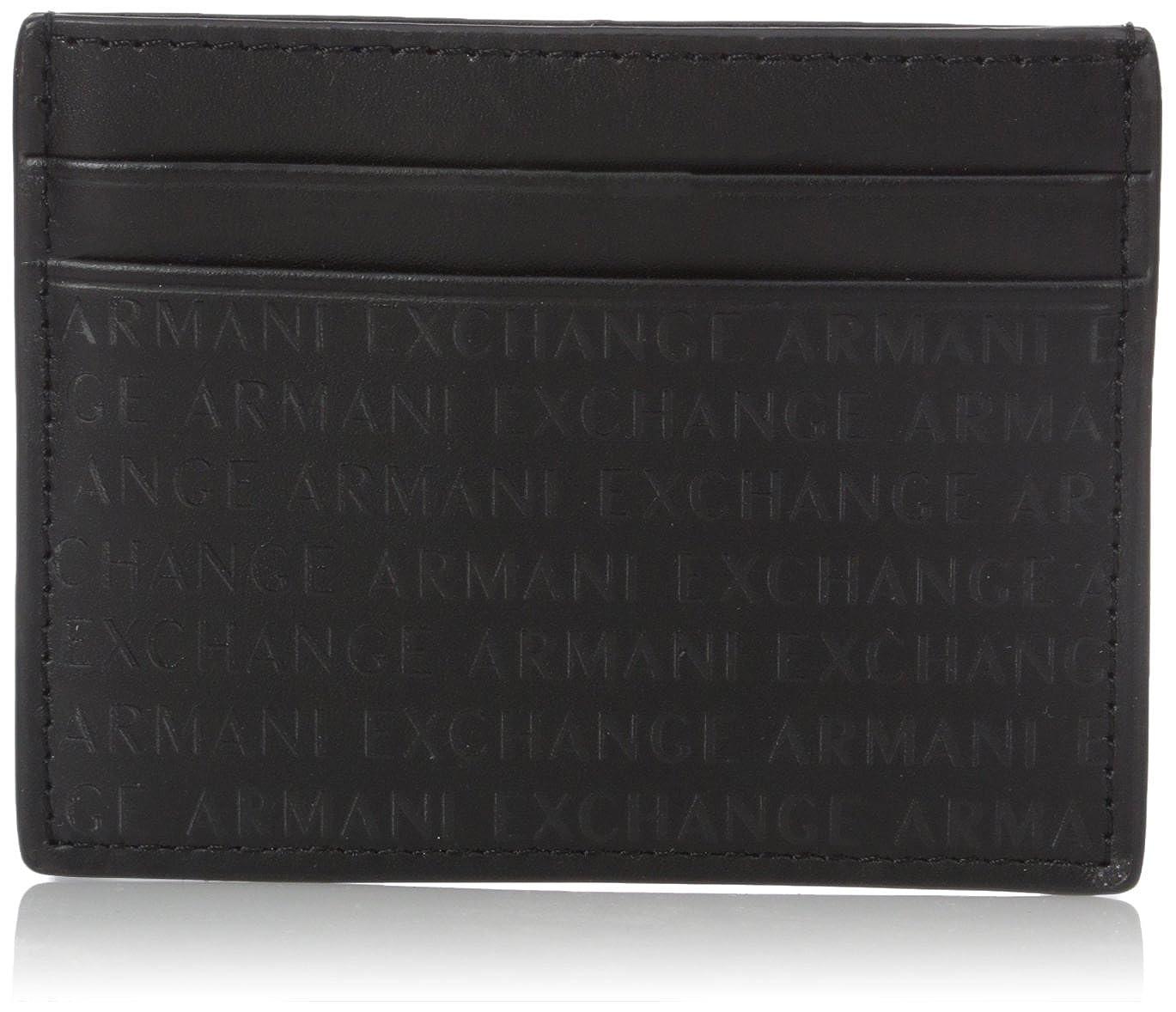 Armani Exchange Men's Laser Logo Cardcase black One Size 958027CC51700020
