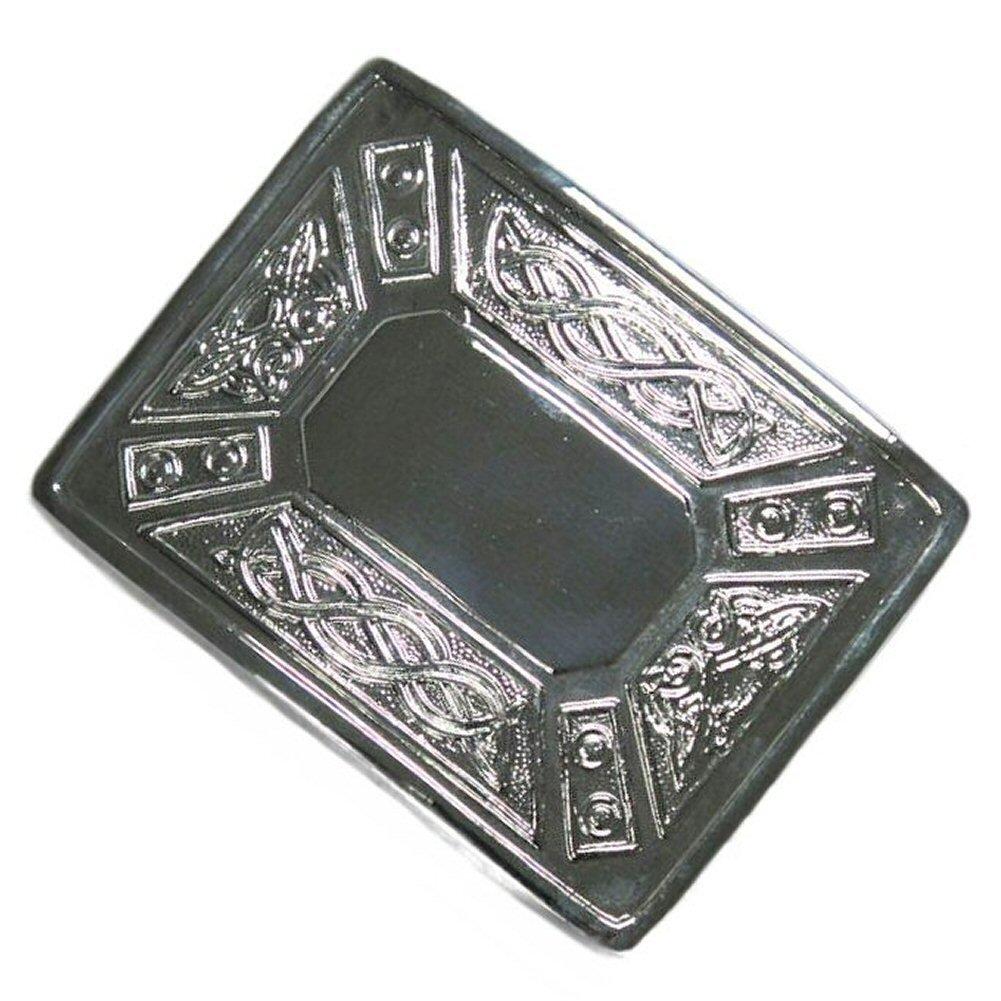 motif croix de St Andr/é//chardon Tartanista Boucle de ceinture de kilt Deluxe
