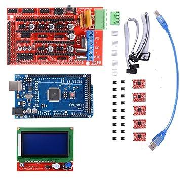 Kit de impresora 3D con Mega 2560 Board + RAMPS 1.4 ...