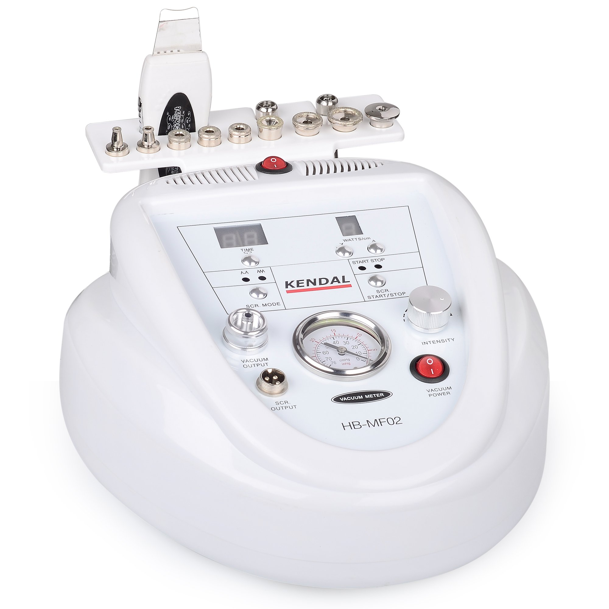 Kendal 2 in 1 Professional Diamond Microdermabrasion Machine with Skin Scrubber Function HB-MF02
