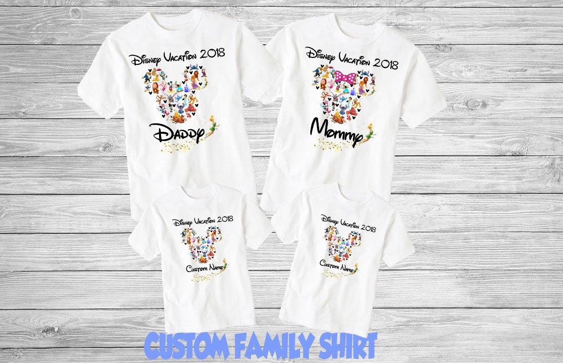 7b3f64bc3 Customized Disney Vacation T Shirts - BCD Tofu House