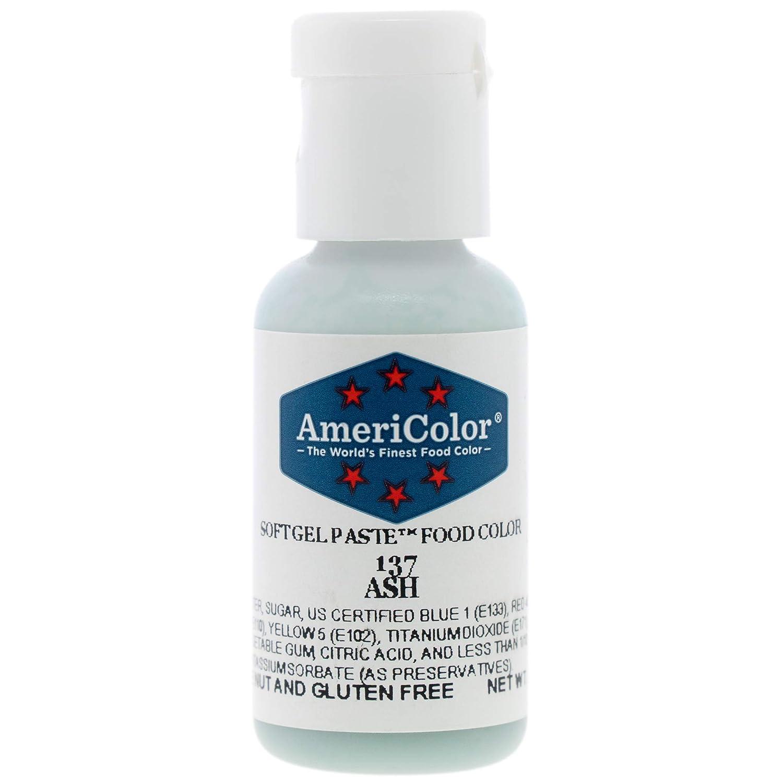 Food Coloring AmeriColor Ash Soft Gel Paste .75 Ounce