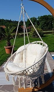 diseo silla colgante catalina con almohadas sin marco de as s